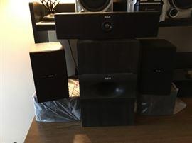 RCA multiple speaker system