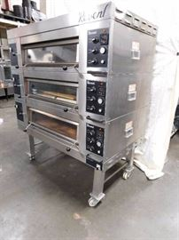 Revent Triple Stack Electric Pizza Oven