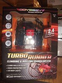 Odyssey Toys Turbo Runner NX Climbing & Rolling Qu ...