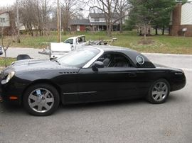 2002 Thunderbird Convertible - Reversible Hard & Soft Tops