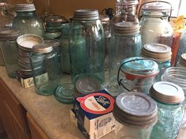 Antique and Vintage Ball Mason Jars
