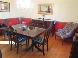Mahogany Dining Room Set, Sideboard