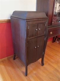 RCA Victor Antique Record Player Cabinet
