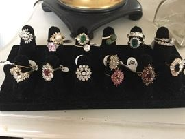 Collection of Gorgeous Rings