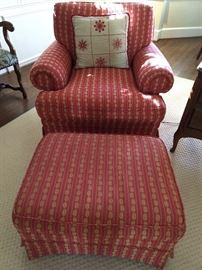 Big Daddy upholstered armchair, by Isenhour Furn. Co.
