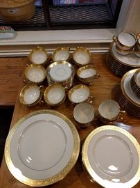 "56-piece set of Lenox ""Westchester"" china, M-139."