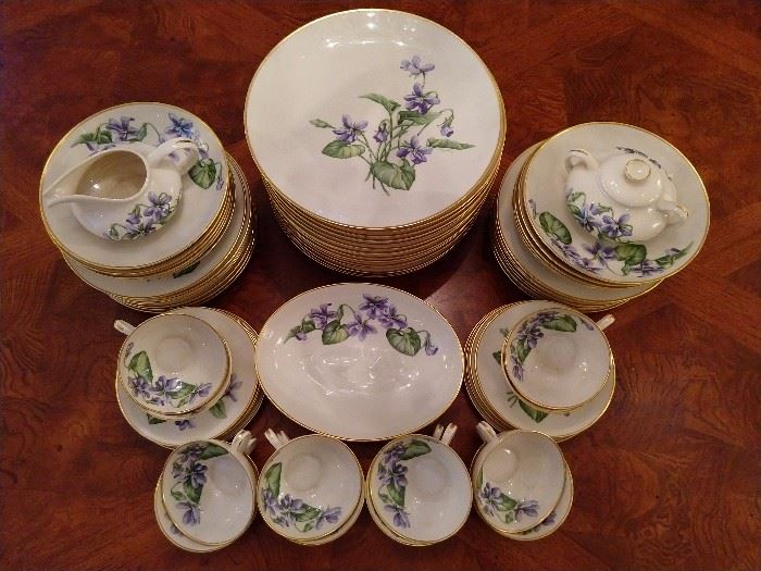 "64-piece set of Franciscan ""Olympic"" china."