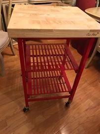 folding kitchen island - QVC