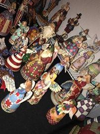 Massive  collection of Jim Shore