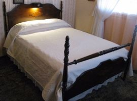 Antique Art Deco Bed