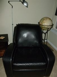 Awesome leather rocker/recliner