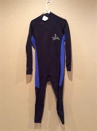 Scub diving wetsuit