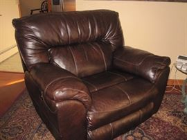 Over sized chair and a half recliner $200