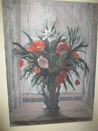 M.A, Ichanson Painting