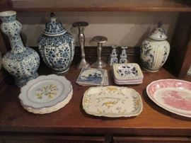 Delft and French Faience