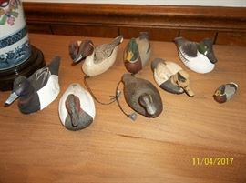 did I say there were duck decoys...