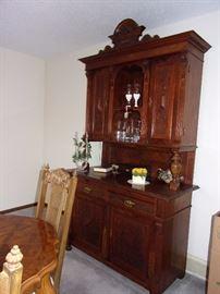 German WWII antique hutch/buffet/schrank