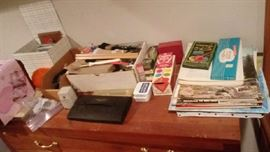 Crafts, sewing stuff, paints