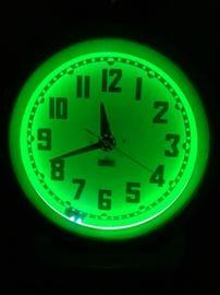 1940s Neon Clock