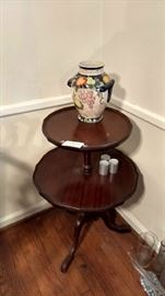charming 2 tier side table