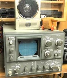 Kenwood SM-220 Station Monitor
