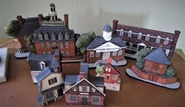 Hand Painted Village
