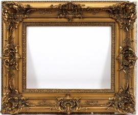 """1516 - GESSO PICTURE FRAME, AS IS, H 20"""" W 24"""""""