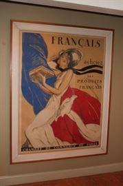 French Poster - Chambre De Commerce De Paris