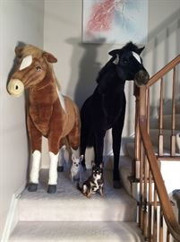 Tan Horse is available. Black Horse is sold.