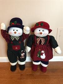 2 cute snowman ⛄️