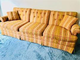 Colorful vintage sofa