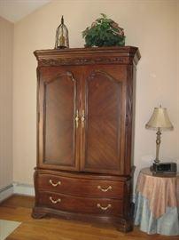 Bob Mackie armoire $600