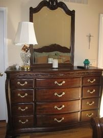 Bob Mackie dresser with mirror $450