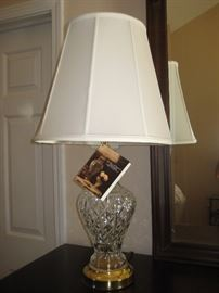 Waterford lamp $200