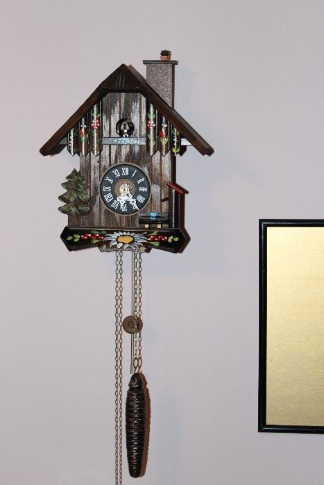 listed by a moment in time estate sales cuckoo clocks bedroom furniture beds knicknacks hummel artcuckoo clock of goodies cuckoo clocks furniture and