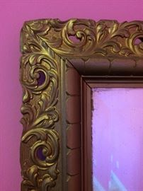 Detail of mirror.