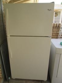 Whirlpool Refrigerator, like-new, only 1 year old!