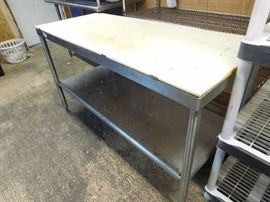 Stainless Steel Carving Table