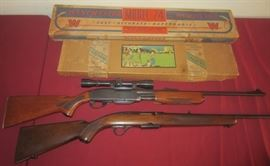 WINCHESTER RIFLES ETC. RARE REMINGTON 760 IN .222 CALIBER