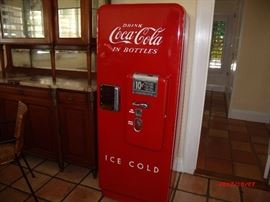 1954 Coca cola Machine Fully restored