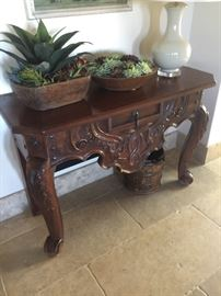 Indonesian table