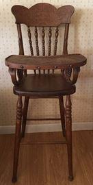 Vintage Child's Highchair