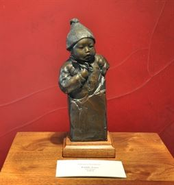 "Original Glenna Goodacre Bronze entitled, ""Little Guo"", #25 of 25, 10"" tall"