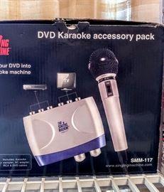 DVD Karaoke accessory pack