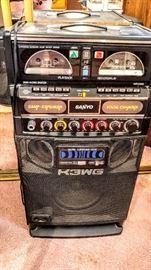 Sound system, karaoke system