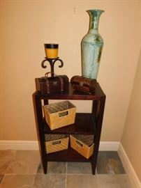 Decor and side table