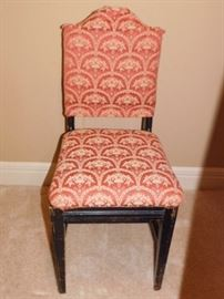 Fabric back and seat chair