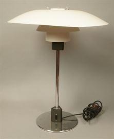 Lot 7 Danish LOUIS POULSEN PH Table Lamp. White Matte L