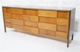 Lot 10 EDMOND SPENCE Style Modernist Credenza Sideboard.
