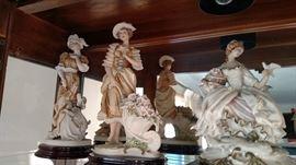 G Armani Lady Figurine